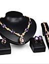 Set bijuterii Pentru femei Aniversare / Nuntă / Logodnă / Zi de Naștere / Cadou / Petrecere / Zilnic / Ocazie specială Set BijuteriiAliaj
