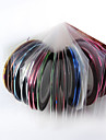 30 pcs Rolls Striping Tape Line Nail Art Sticker Random Color+2pcs Dedicated Box