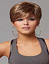 generös syntheic peruk högkvalitativa europeiska lady kvinnor våg peruker