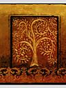 Pictat manual Floral/BotanicModern / Stil European Un Panou Canava Hang-pictate pictură în ulei For Pagina de decorare