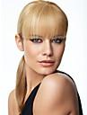ny stil vertex hår lugg naturliga hår lugg klipp lugg peruk flicka hårförlängning