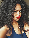 a buon mercato riccio crespo dei capelli vergini brasiliani della parrucca del merletto naturale nero pieno per le donne nere