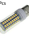 18W E14 / E26/E27 Ampoules Mais LED B 72 SMD 5730 1650 lm Blanc Chaud / Blanc Froid Decorative AC 100-240 V 5 pieces