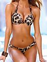 Femei Bikini Femei Cu Bretele Floral / Animal Sutiene cu Întăritură Nailon / Polyester