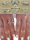Inele Midi Aliaj Iubire La modă Declaratie de bijuterii Argintiu Bijuterii Nuntă Petrecere Zilnic Casual 1set