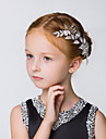 Peigne Casque Mariage / Occasion speciale / Casual / Outdoor Alliage Jeune bouquetiere Mariage / Occasion speciale / Casual / Outdoor1