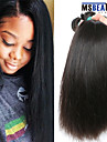 """3st lot 8-30 """"indian raka hårwefts obearbetade jungfru människohår väva buntar"""