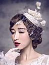 European Lace Wedding / Special Occasion Flowers / Birdcage Veils / Flax Headpiece