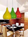 1w Hängande lampor ,  Modern / Glob Målning Särdrag for Flush Mount Lights MetallDining Room / Skaka pennan och tryck på spetsen innan du