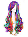 lolita ombre perruque   perruques synthetiques naturels resistant a la chaleur Perruque perruques anime cosplay  boucles
