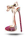 Coreea de Sud nunta de diamant brosa arc pantofi cu toc înalt