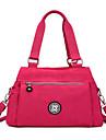 Femme Nylon Decontracte / Bureau & Travail / Shopping Sac a Bandouliere / Cabas / Cartable / Sac de Rangement Bleu / Rouge / Noir