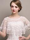 Shawls Shawls Sleeveless Lace Ivory Wedding / Party/Evening Scoop Lace