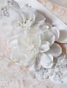 Satin Wedding / Party/ Evening / Dailywear Sash-Appliques / Pearls / Floral / Rhinestone Women\'s 98 ½in(250cm)Appliques / Pearls / Floral