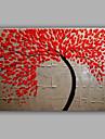 kniv träd målning av handgjorda