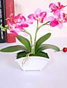Polyester / PU Orkidéer Konstgjorda blommor