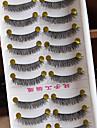 ögonfransar Ögonfrans Others Ögonfrans Korsvis / Naturligt långa Förlängda / Lyfta ögonfransar / Volumized / Naturlig / Lockigt Handgjord