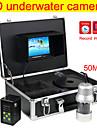 ekolod 360 ° panorering kamera, bred betraktningsvinkel undervattensfiske kamera dvr funktion fri 4GB SD-kort