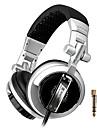 st-80 professionella monitor musik headset hifi subwoofer förbättrad super bass buller lsolating dj hörlurar