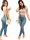 Pantaloni Da donna Jeans Casual Denim Anelastico