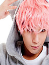 Anime Cosplay Wig Hot Sale men Short Wig Deep Pink Small Roll Wigs.