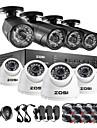 zosi®8ch hdmi 960h dvr 1TB hdd 8 st 1000tvl ir utomhus CCTV kameraövervakning säkerhetssystem