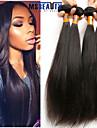 """4 st / lot 8 """"-22"""" 8a malaysiska jungfru hår rakt människohår väft 100% obearbetat malaysiska remy hår väver"""