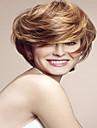 hetaste kvinnor lady blond charmig kort bob syntheic peruk