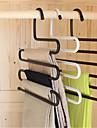 Multifunktionella s magiska garderob järn byxor krok stöd flerskiktsantisladd (slumpvis färg)