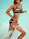 Femei Bikini Femei Bustieră Floral / Animal Fără Întăritură / Sutiene cu Bureți Spandex / Modal