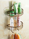 Bathroom Shelf , Antique Antique Copper Wall Mounted