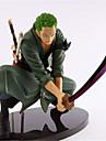 Anime de acțiune Figurile Inspirat de One Piece Roronoa Zoro Plastic de Inginerie 18 CM Model de Jucarii păpușă de jucărie