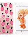 pentru iPhone 7 maycari® hârtie avion moale transparent spate TPU caz pentru iPhone 6s 6 plus