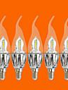 5 pcs fsl®5w e14 conduit bougies C35 20 cms 3528 440 lm chaud ac decoratif blanc 220-240 v