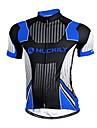 NUCKILY® Cykeltröja Herr Kort ärm CykelAndningsfunktion / Snabb tork / Anatomisk design / Fuktgenomtränglighet / Dragkedja fram / Inbyggd