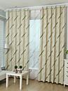 Two Panel European Minimalist Living Room Bedroom Children\'s Room Striped Curtains