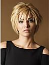 perruques droites couleur blond vente chaude superieure synthetique de qualite