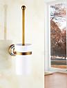 Toalettborsthållare , Traditionell Antik koppar Väggmonterad