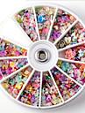 1Set-Autre decorations / Bijoux pour ongles-Doigt / Orteil- enBande dessinee / Abstrait / Adorable / Mariage-8*8