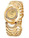 pentru Doamne Ceas La Modă Ceas Brățară Quartz Oțel inoxidabil Bandă Elegant Argint Auriu Auriu Argintiu Auriu/Argintiu
