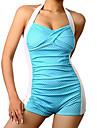 Femei Bikini Femei Cu Susținere Buline / Mulată Push-up Polyester