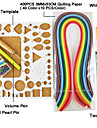 400pcs Quilling papper diy konsthantverk dekoration kit / 7st set
