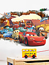 AYA™ DIY Wall Stickers Wall Decals,3D Cars PVC Wall Stickers