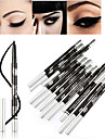 Eyeliners Blyertspenna Torr Volumized / Shimmer glitter gloss / Färgat gloss / Långvarig / Naturlig / Torkar snabbt / Andningsfunktion