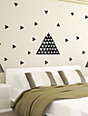 AYA™ DIY Wall Stickers Wall Decals, 154pcs Triangles PVC Wall Stickers