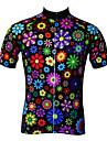 JESOCYCLING® Cykeltröja Dam Kort ärm CykelAndningsfunktion / Snabb tork / Ultraviolet Resistant / Antistatisk / Back Pocket / Ultratunt