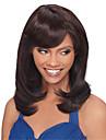 hög kvalitet brun peruk klädstil hög temperatur tråd mitt långt rakt hår peruk