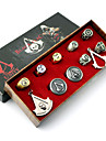 Bijoux Inspire par Assassin\'s Creed Cosplay Anime/Jeux Video Accessoires de Cosplay Colliers / Badge / Broche / Plus d\'accessoires Argente