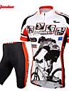 TASDAN® Cykeltröja med shorts Herr Kort ärm Cykel Andningsfunktion / Snabb tork / 3D Pad / Reflexremsa / Back Pocket / Svettavvisande