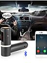 bluetooth FM-sändare, universal trådlös FM-sändare / mp3-spelare / billaddare